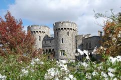 温莎城堡-英国 库存照片