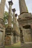 从温莎废墟的柱子,密西西比 库存图片