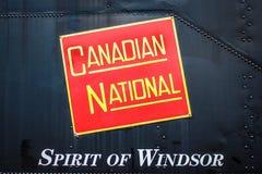 温莎的加拿大全国精神 免版税库存图片