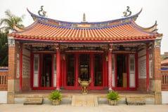 温吴寺庙在彰化 库存图片