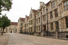 温彻斯特城堡 库存图片