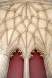 温彻斯特大教堂教会的门 库存图片
