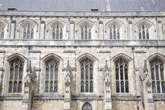 温彻斯特大教堂教会,英国,英国 免版税库存照片