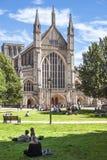 温彻斯特大教堂,温彻斯特,汉普郡,英国 免版税库存照片