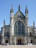 温彻斯特大教堂,温彻斯特,汉普郡,英国 免版税库存图片