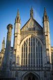 温彻斯特大教堂 免版税库存图片