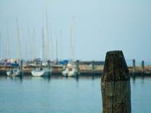 港口在基奥贾(威尼斯,意大利) 库存图片