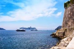 港口在尼斯,法国 免版税库存图片