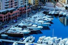 港口在摩纳哥 免版税图库摄影