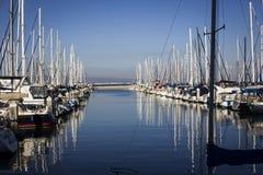 港口在旧金山 库存照片