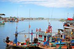 港口在泰国 库存照片