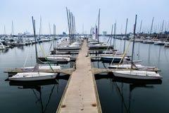 港口在琴岛 免版税库存照片