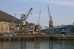 港口场面西开普省南非 免版税图库摄影