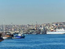 港口城市的属性 图库摄影