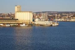 港口奥斯陆 免版税图库摄影