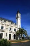 港口宫殿西班牙巴伦西亚 免版税库存照片