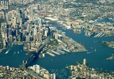 港口悉尼 库存照片