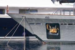 港口摩纳哥游艇 免版税图库摄影