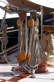 港口摩纳哥游艇 库存图片