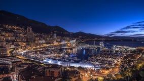 港口摩纳哥 免版税库存照片