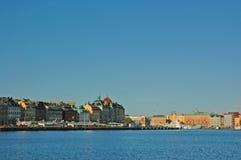 港口斯德哥尔摩 免版税库存图片