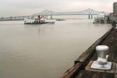 港口新奥尔良 库存图片