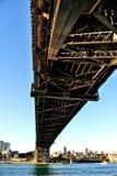 港口桥梁在悉尼 免版税库存照片