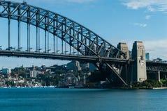 港口桥梁在悉尼 免版税图库摄影