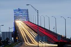 港口桥梁在科珀斯克里斯蒂,得克萨斯 免版税库存图片