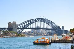 港口桥梁,悉尼 免版税图库摄影