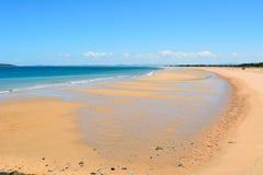 港口海滩在马偕中,澳大利亚 免版税图库摄影