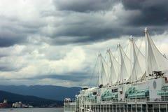 港口温哥华 免版税库存照片