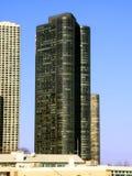 港口点摩天大楼芝加哥 图库摄影
