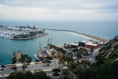 港口的看法和从肯桑普森的小游艇船坞俯视公园我 库存图片