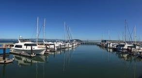 港口码头39全景旧金山 免版税库存照片