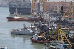 港口科伦坡斯里兰卡 免版税库存照片