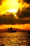 港口维多利亚 库存照片