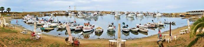 港口西西里岛 库存照片