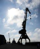 港口视图 库存图片