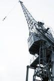 港口起重机 免版税图库摄影