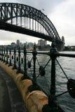 港口路径悉尼 库存图片