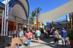 港口镇英属黄金海岸昆士兰澳大利亚 免版税库存图片