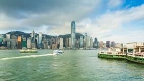 港口香港维多利亚 免版税图库摄影