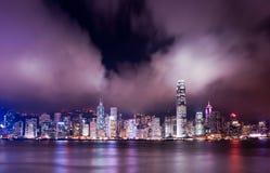 港口香港 库存图片