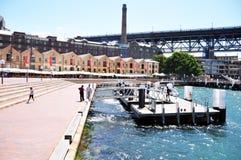 港口鸟蛤海湾(悉尼)在新南威尔斯,澳大利亚 免版税库存照片