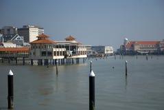 港口,乔治城,槟榔岛,马来西亚 免版税库存图片