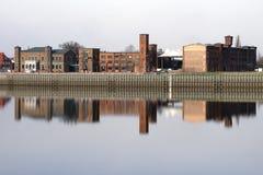 港口维滕贝尔格 库存照片