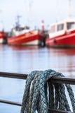 港口细节 免版税库存图片