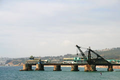 港口 免版税库存图片