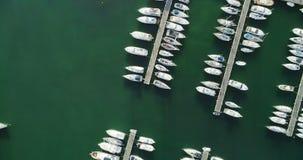 港口4k鸟瞰图  股票视频